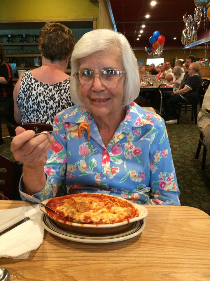 Judy McCann Sipma - homemade italian dinner