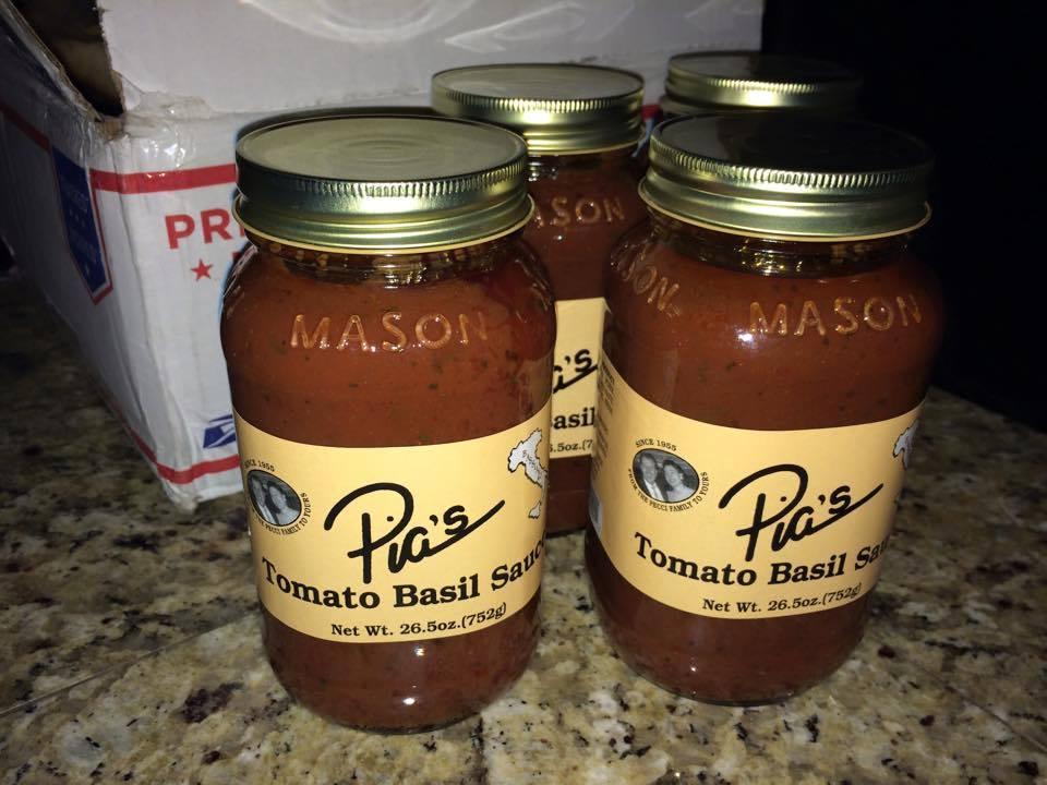 Pias Basil Sauce