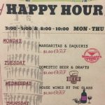Pias Happy Hour