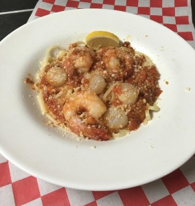 Scallop-Shrimp-Scampi