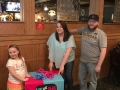 baby reveal dinner party