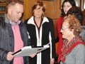 City of Taylor Mayor Sollars presents proclamation to Josephine at pias